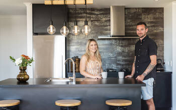 Signature blog How these first home buyers added their own design flair to a new build