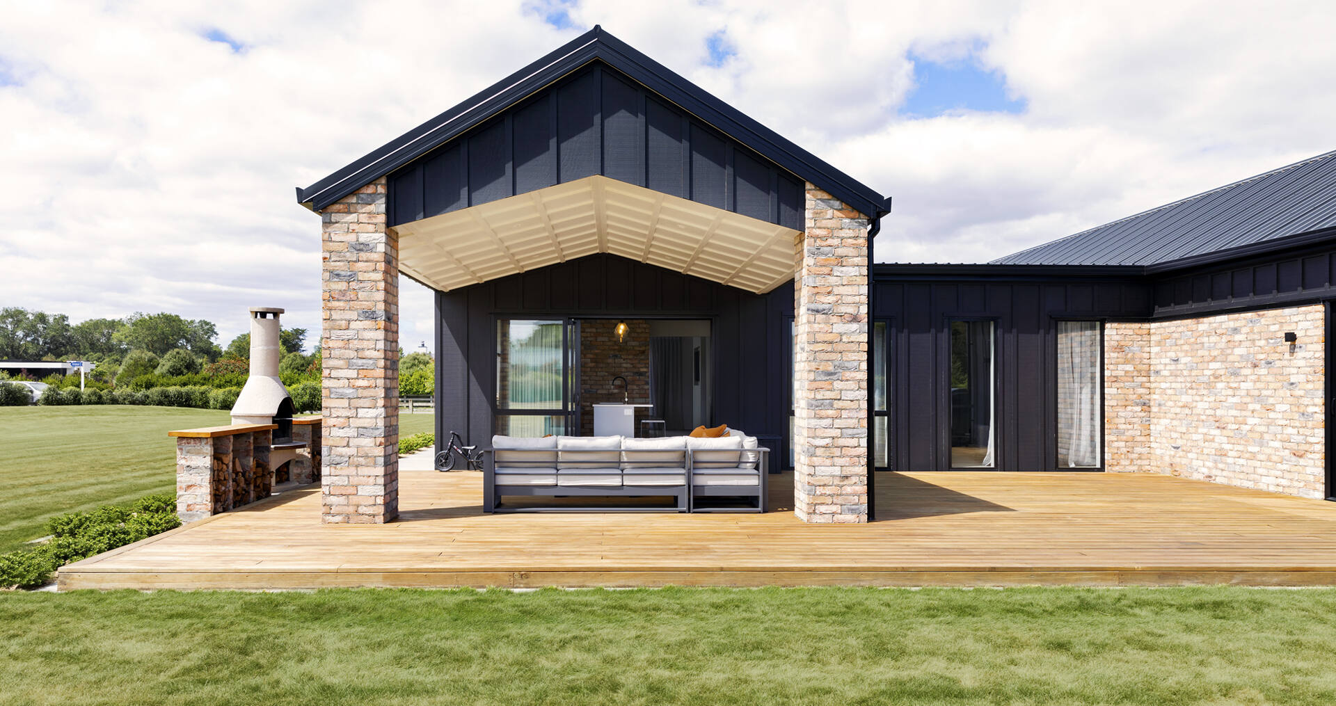 A beautiful new build that has space for a growing family