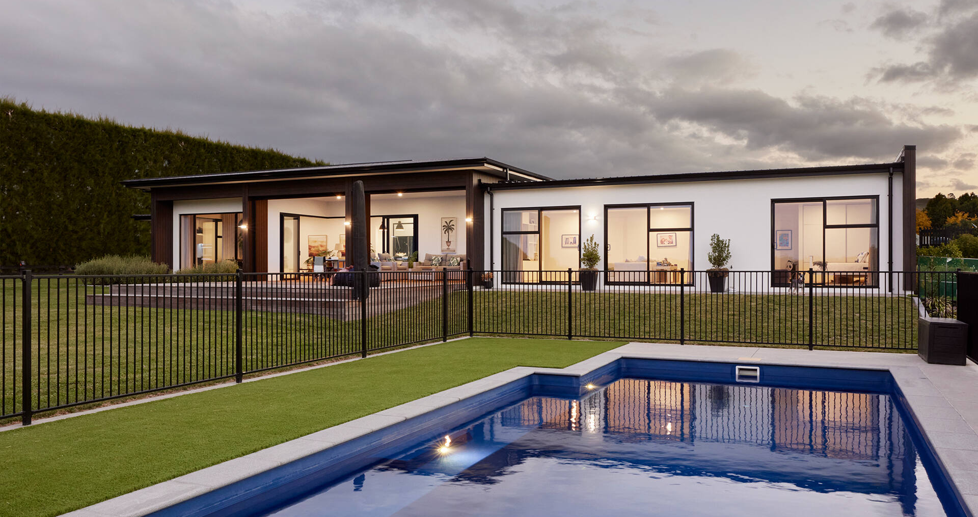 How this semi-rural family home celebrates its picturesque location